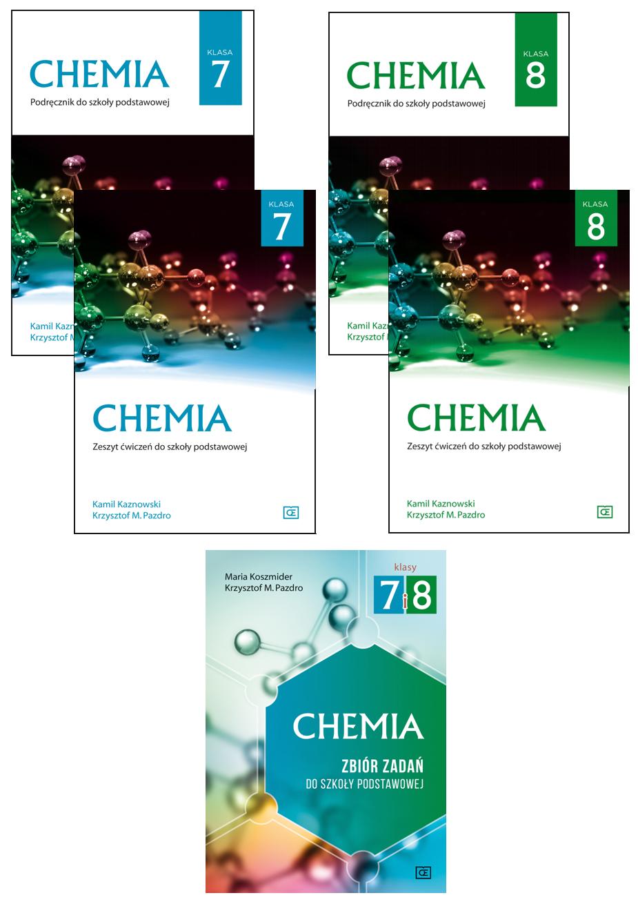 chemia zbiór zadań klasa 7